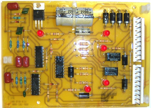 Century//Solar 880-411-666  Circuit Board//Rectifier Assembly
