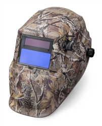 Lincoln Camo Auto Darkening Helmet - Variable Shade/Grind 9-13 K3445-1