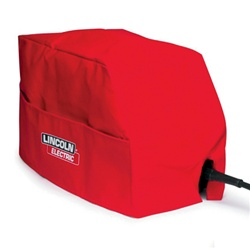Lincoln Electric Small Canvas Cover Red KH495