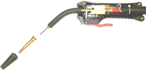 [SCHEMATICS_4NL]  Lincoln Electric Gun and Cable Assembly S25695-11 | Welding Gun Diagram |  | WeldingAndCutting.com