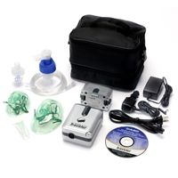 Devilbiss Traveler Portable Nebulizer with Lithium Ion Battery