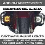The Dual Switchback white to amber LED technology will activate with your turn signals and better yet, they make you more visible to oncoming traffic both day and night.