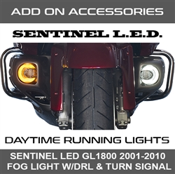 GL1800 ('01-10) LED Fog Light with DRTS [ADD-ON 45-1860]