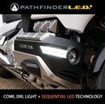 GOLD WING 2018-2021 COWL LIGHTS WITH DRL + SEQUENTIAL LED TURN SIGNALS