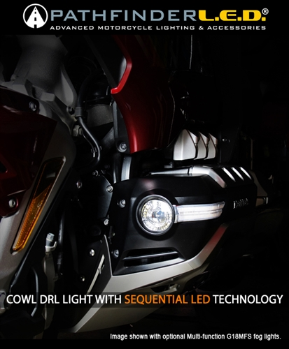 2018+ GL1800 COWL LIGHTS WITH DRL + SEQUENTIAL LED TURN SIGNALS