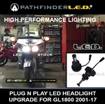 NO STOCK! SHIPS AFTER 04-30-20 - GL1800/F6B - LED HEADLIGHT KIT