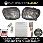 SHIPS AFTER 12-25 - GL1800/F6B TURN SIGNAL DUAL SWITCHBACK LED+FLASHER KIT