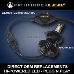 [NEW] GL1000/GL1100/GL1200 LED Headlight Bulb Kit