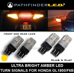 GL1800/F6B - FRONT & REAR AMBER TURN SIGNAL LEDs