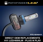 SH AFTER 10/20/20 - H11 RUGGED 4000LM LED - PLUG N PLAY
