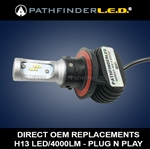SHIPS AFTER 4/30/2021 - H13 RUGGED 4000LM LED - PLUG N PLAY