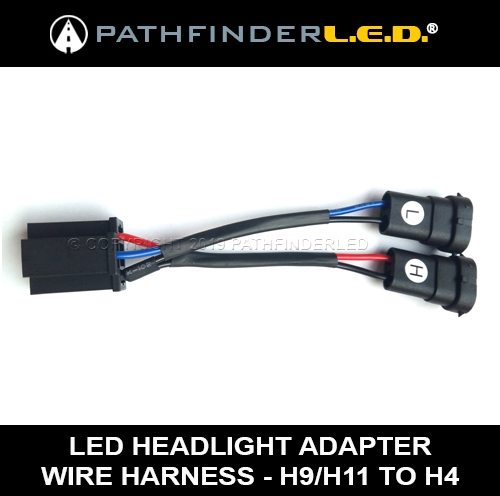 Stupendous H9 H11 To H4 Wiring Adapter Harness For Harley Road Kings 2014 And Up Wiring Digital Resources Arguphilshebarightsorg