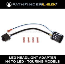 H4 LED HEADLAMP WIRING HARNESS ADAPTER