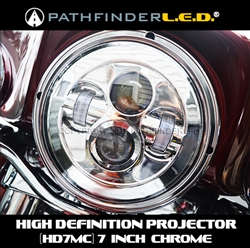 "[HD7M] 7"" LED HIGH DEFINITION PROJECTOR HEADLAMP"