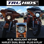 Harley Dual-Bulb HID/LED Conversion Kit B/O EST SH 8/28/18