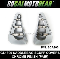 GL1800 SADDLEBAG SCUFF COVERS