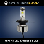 ULTRA MINI H4 LED BULB W/ADJUSTABLE BASE