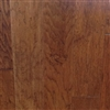 "Engineered Hickory Handscraped Flooring, 3/8""x5""xRL, Spanish Hickory"