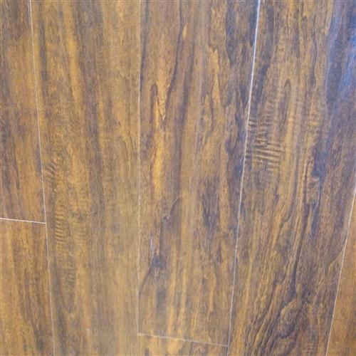 1233mm Handscraped Laminate Flooring Acacia Walnut