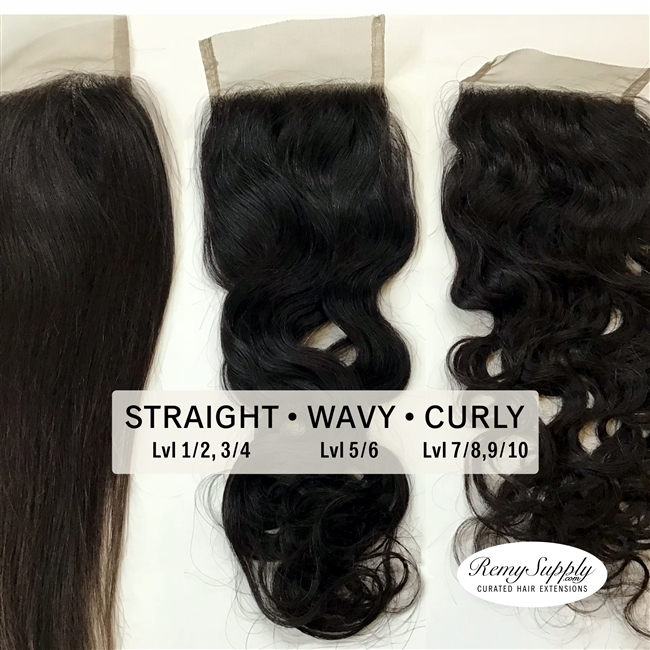 Virgin Remy Closures