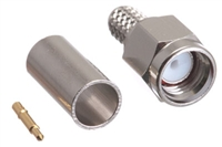 SMA Male Crimp Connector - RG58 RG141 & LMR-195