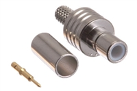 SMB Female Crimp Connector - RG174 & LMR-100