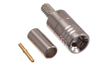SMB Male Crimp Connector - RG174 & LMR-100