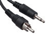 6 ft. - 3.5mm Mono to RCA Cable - Male to Male