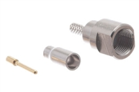 FME Male Rotating Nipple Crimp Connector - RG174 & LMR-100