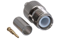 RP TNC Female Connector - RG58 RG141 LMR-195