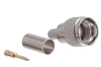 Mini UHF Male Crimp Connector - RG58 RG141 & LMR-195