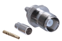 TNC Female Crimp Connector - RG174 RG188 RG316 & LMR-100