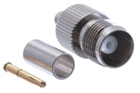 TNC Female Crimp Connector - RG58 RG141 & LMR-195