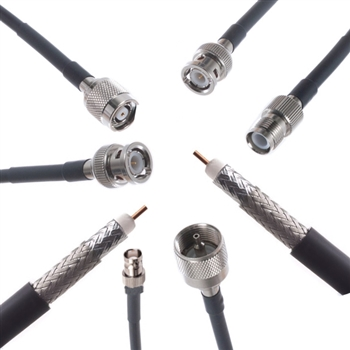 Custom RG58/U Coaxial Cable Assemblies