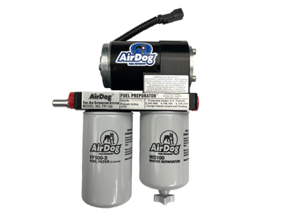 AirDog FP-100 Fuel/Air Seperator Lift pump With Quick Disconnects Fits 2001-2010 GM Duramax Diesel