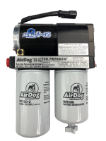 Airdog II 4G DF-165 With Adjustable Regulator & Quick Disconnects 150 GPH Fits 01-10 Duramax Diesel