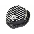 AFE Rear Differential Cover Brushed Black for GM 2500/3500 HD Pick Ups 2001-Up