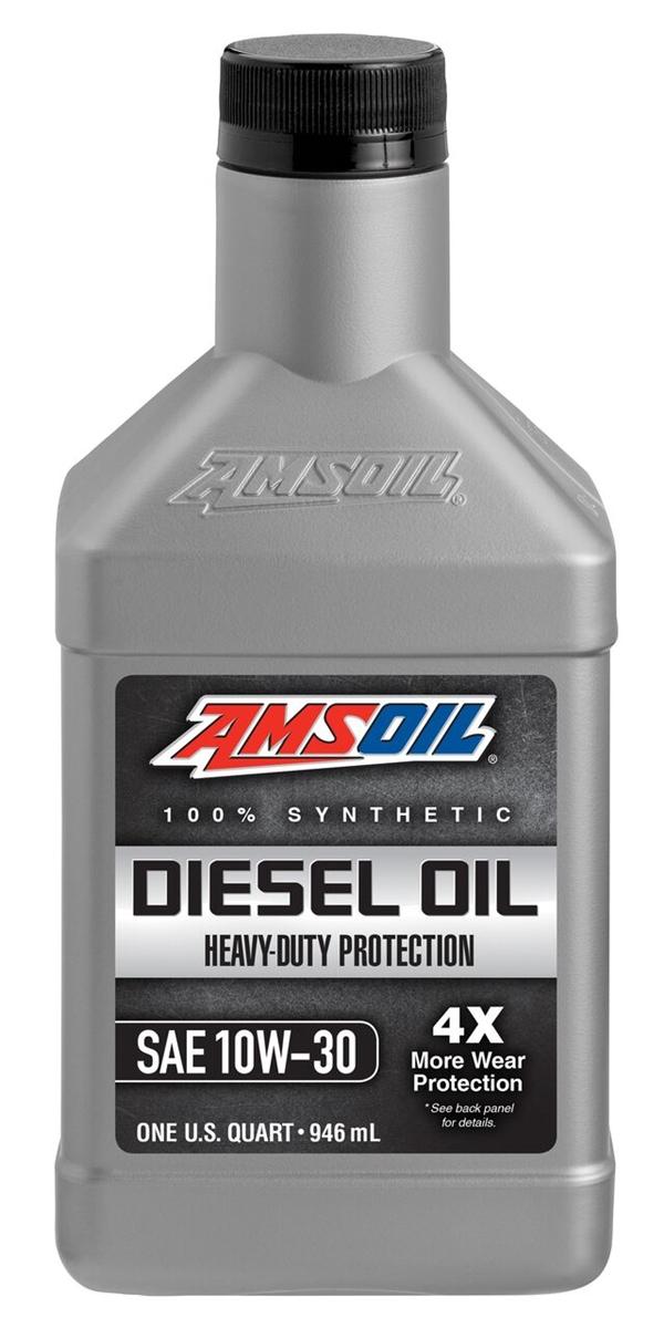 Amsoil ADNCJ-4 10W-30 heavy duty synthetic diesel oil
