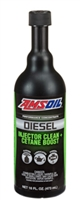 Amsoil Diesel Injector Cleaner & Cetane Booster 16oz Case