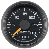 Auto Meter 0-30 LB Fuel Pressure Gauge GM Factory Match Series