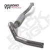 "Diamond Eye 4"" Cat Back T409 Stainless Steel Exhaust for 2001-2005 LB7, LLY Duramax Diesel Engines"