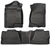 Husky Liners Weatherbeater Floor Mat Set Black