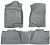 Husky Liners Weatherbeater Floor Mat Set Grey