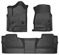 Husky Liners Weatherbeater Floor Mat Set Black 2015-Up