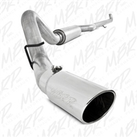 "MBRP 4"" Down Pipe Back Aluminized Exhaust for 2001-2010 Duramax Diesel Engines"