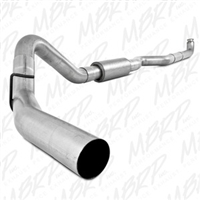 "MBRP 4"" Down Pipe Back Aluminized Exhaust for 2001-2010 Duramax Diesel Engines-Tip not Included"