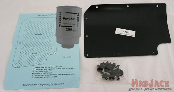 duramax diesel fuel filter upgrade kit for 2001-2016 ... 2005 duramax fuel filter