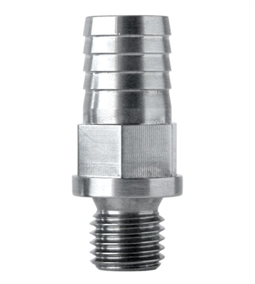 "PPE Stainless Steel 1/2"" CP3 Pump Inlet Fitting"