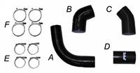 PPE Silicone Boost Tube Kit 2002-2004 LB7 Duramax Diesel