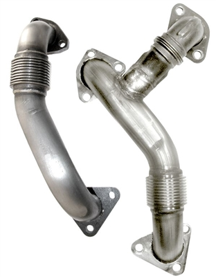 PPE High Flow Up-Pipes 2006-2007 LBZ Duramax Diesel